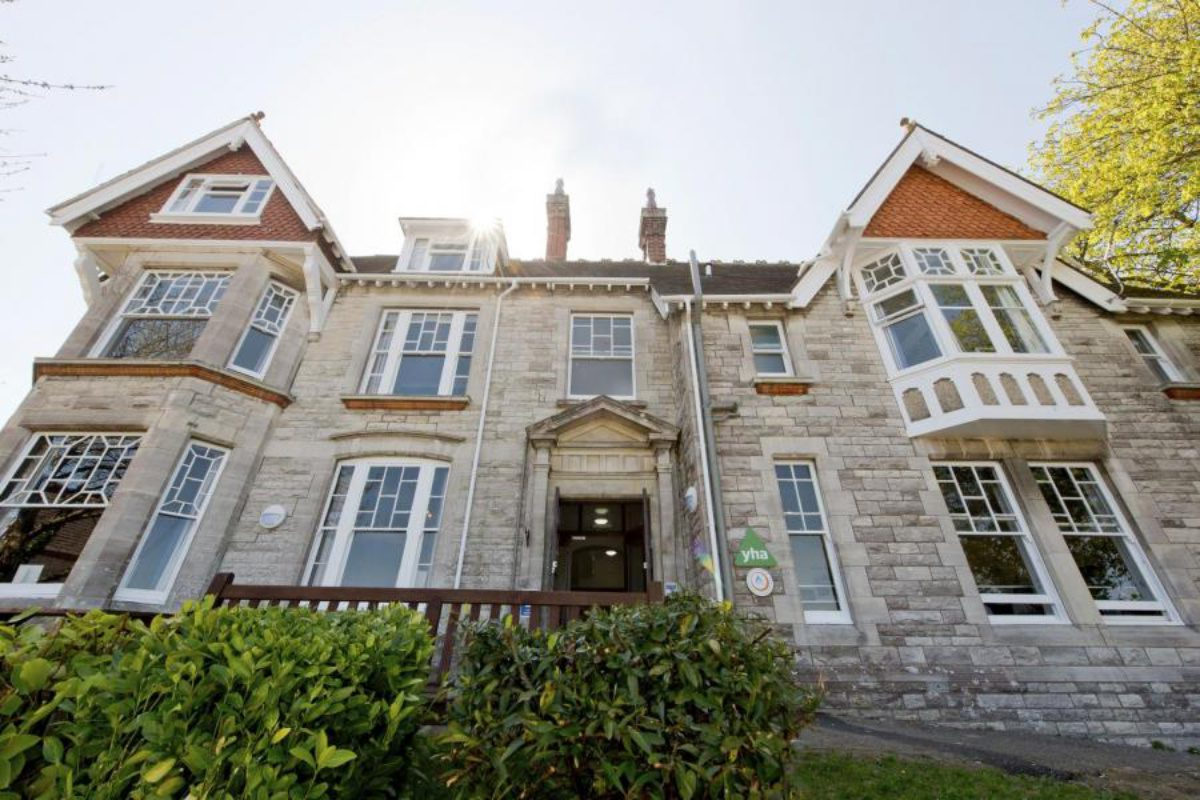 YHA Swanage exterior front