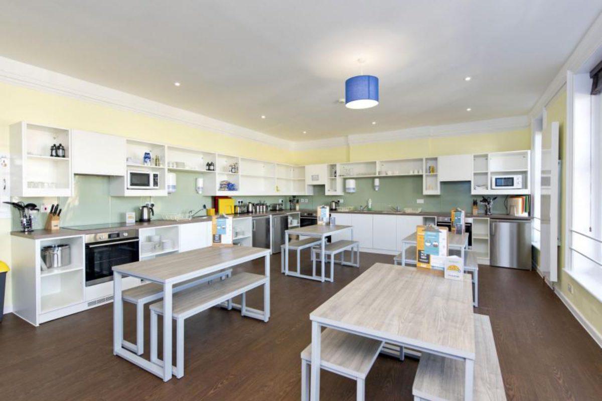 YHA Swanage kitchen