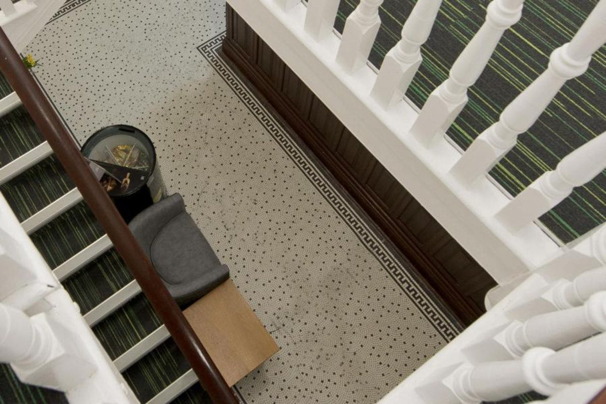 YHA Swanage staircase